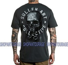 Sullen Prudent Badge SCM2903 Short Sleeve Graphic Tattoo Skull T-shirt F... - $30.54