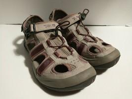* Teva 6154 Omnium Bump Toe Hiking Water Sandals Cement/Mauve Women 8.5 - $19.79