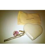 Louis Vuitton Verni Porte monnaie Cool Heart Coin Case Key Chain Ladies ... - $249.06