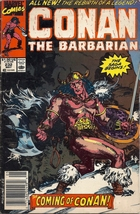 (CB-1} 1989 Marvel Comic Book: Conan the Barbarian #232 - $3.00