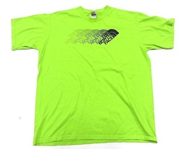 THE NORTH FACE GREEN Logo Short Sleeve Graphic T-Shirt Men's Size Large - $29.65