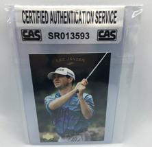Lee Janzen 2003 Upper Deck Autographed Golf Card CAS (1) - $12.99