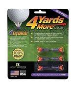 """4 Yards More Golf Tees 1"""" - Purple - 1 Pack of 6 Tees , Hybrid Tees - $4.99"""