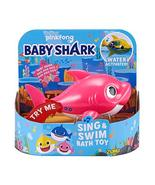 Robo Alive Junior Baby Shark Battery-Powered Sing and Swim Bath Toy by Z... - $23.25