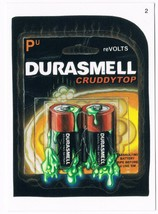 2005 Topps Wacky Packages Series 2 Durasmell Batteries Trading Card 2 ANS2 - $5.99