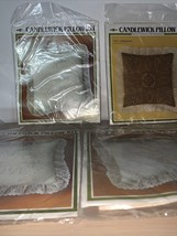 Lot of 4 Candlewick Pillow Kits - $23.33