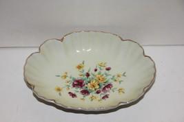 Vintage Lefton China hand painted Soap or Trinket Dish 8183 - $8.91