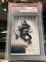 Brian Westbrook #111 RC-LEV.1 2002 Ud Graded Psa Mint 9 Upper Deck Card - $39.20