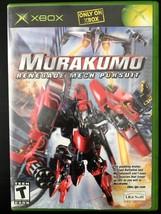 Murakumo: Renegade Mech Pursuit (Microsoft Xbox, 2003) Complete! - $12.59