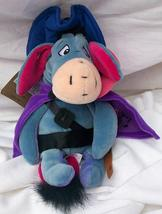 Disney Store Mini Bean Bag Musketeer Eeyore 9 Inches Mint With All Tags - $17.99