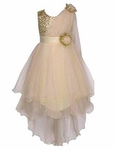 Colorful House Girls' Sequined Trailing Flower Formal Wedding Party Dres... - $22.11