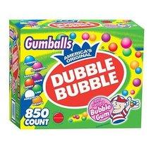 Dubble Bubble Bubble Gum Gumballs,( 850 ct.) ( Box of 2 ) AS - $72.68