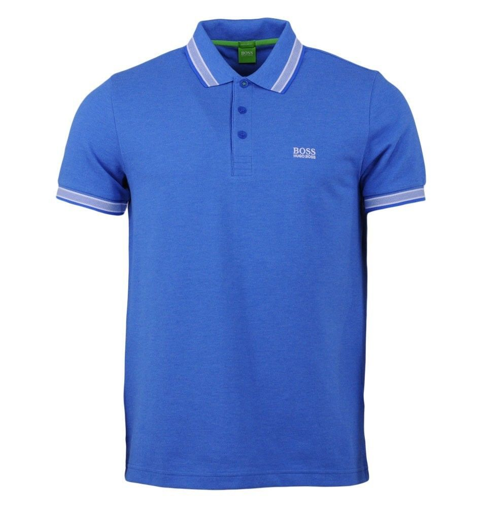 New Hugo Boss Men's Regular Fit Paddy Pro Polo Shirt T-Shirt Blue 50302557 499