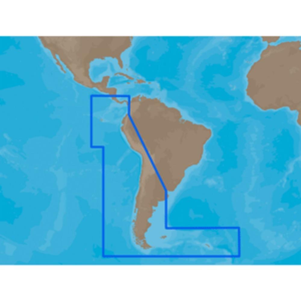 C-MAP MAX SA-M500 - Costa Rica-Chile Falklands - SD Card