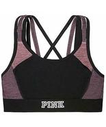 Victoria's Secret Pink Logo Strappy Ultimate Sport Bra Multi Color XSmal... - $36.00