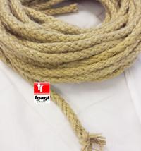Natural 8mm Jute Rope Braided Garden Cord Craft DIY Bag Gift Decoration ... - $65,37 MXN+