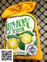 Mlesna Natural Flavored Lemon Ceylon Tea in Cloth Pouch - $5.17