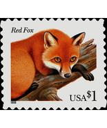 1998 $1 Red Fox, SA Scott 3036 Mint F/VF NH - $4.98