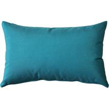 Pillow Decor - Sunbrella Peacock Outdoor Pillow 12x20 - $675,56 MXN