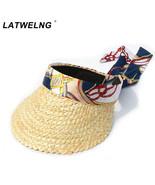 Hats For Women Fashion New Design Big Bow Beach Scarf Ribbon Sun Caps Fe... - $12.66