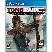 Tomb Raider Definitive Edition, Square Enix, PlayStation 4, 662248913803 - $27.85