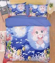 3D Funny Girl 27 Bed Pillowcases Quilt Duvet Cover Set Single Queen King Size AU - $64.32+