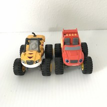 LOT of 2 - Blaze And The Monster Machines - Blaze & Tiger Stripe - $19.19