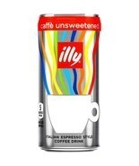 Illy Unsweetened Italian Espresso Coffee Drink 6.8 oz ( Pack of 6 )FAST ... - $23.36