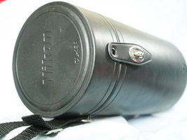 Nikon CL-43A Hard Lens Leatherette Case for Nikkor 80-200mm 2.8D - Nice-  - $25.00