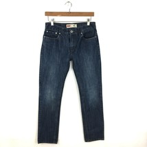 Levis 511 Jeans Slim Fit Mens 29 x 29 Boys Size 18 Lightly Distressed Blue - $19.99