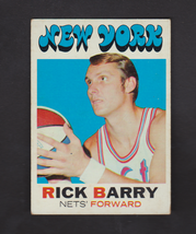 1971 Topps #170 Rick Barry ROOKIE EXMT New York Nets - $89.10