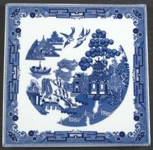 Johnson Brothers Blue Willow Trivet Hot Plate - $49.49