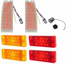 United Pacific LED Tail Light Insert & Side Marker Light Set 1970-77 Ford Bronco - $239.98
