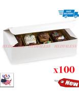 "No.Cbw2 1 Lb. White Gloss Candy Box7 X 3-3/8 X 2"" 100 Pack    FAST SHIPP... - $39.55"