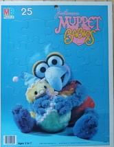 Jim Henson's Muppet Babies Gonzo 25 Piece Puzzle Board Vintage 1984 Milton Brad - $14.50