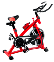 Stationary Bicycle Bike Cycling Cardio Health Workout Fitness with 22lb ... - $179.99