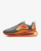 Nike Air Max 720 Black Fuel Orange Pulse AO2924 006 Men SZ 10 US, 100% A... - $119.95