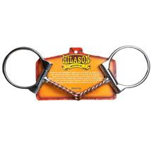 "5"" Hilason Western Offset Dee Ring Twisted Copper Wire Horse Mouth Bit U-71-U - $26.95"