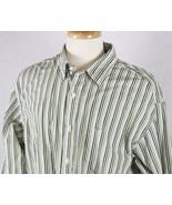 J.Crew Mens Long Sleeve Striped Shirt Size XL 17 17-1/2 - $14.30