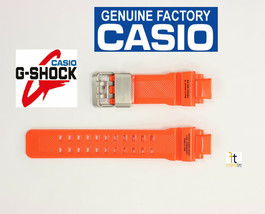 CASIO GW-1100-1A G-Shock Gravitymaster Original Orange Rubber Watch BAND Strap - $89.95