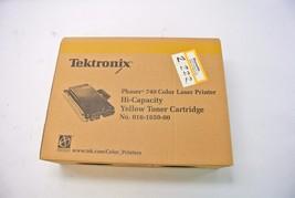 Tektronix Xerox Phaser 740 Laser Printer Toner  Hi-Capacity Yellow 016-1... - $39.99
