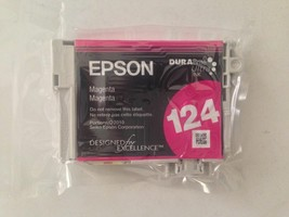 Epson 124 red magenta ink = printer Stylus NX125 NX127 NX130 NX230 NX420  - $19.75