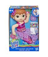 Baby Alive Shimmer 'n Splash Mermaid (Red Hair) Officially Licensed NIB/... - $24.99