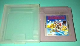 Nintendo Game Boy Super Mario Land Video Game Cartridge Tested Working With Case - $9.95