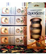 YANKEE CANDLE QUICKSCENT QUICK MELTING-CHRISTMAS TREATS-COOKIE SCENT-5 R... - $9.87