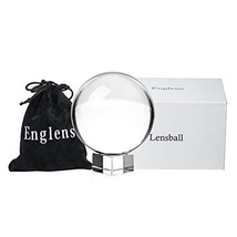 Tensphy 60 mm Photography Lensball Pro K9 Crystal Ball with Stand Clear ... - $15.93