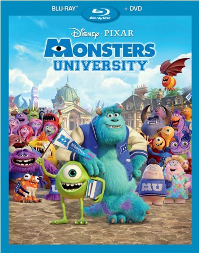 Disney Monsters University [Blu-ray + DVD]