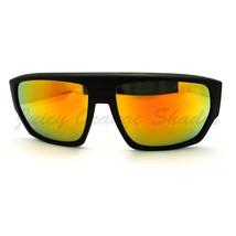 Mens Square Multicolor Mirror Lens Sunglasses Futuristic Sporty Shades - $7.95