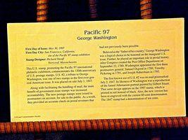 Pacific 97 George Washington Stamp 1997 AA19-ST6024 image 3