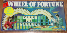 WHEEL OF FORTUNE 2ND EDITION GAME 1986 PRESSMAN TOYS #5555 COMPLETE MADE... - $20.00